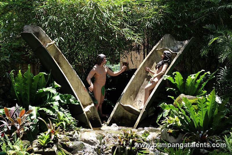 the creation of malakas and maganda Malakas at maganda or putok sa buho wood  in this relief carving on hard wood, the artist retells the legend of the creation of man and woman,.